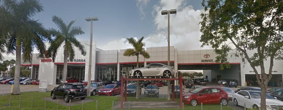 Toyota Of South Florida >> Toyota Of South Florida Reviews Doral Fl 33126 9775 Nw 12th St