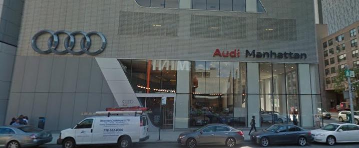 Audi Manhattan Reviews New York NY Th Ave - Audi of manhattan