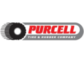 Embossed purcell logo
